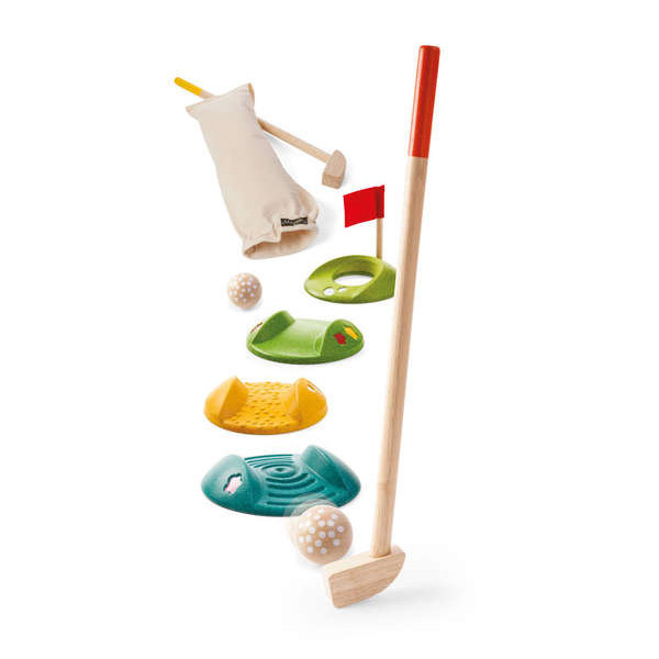 Plan Toys - Mini golf double - Dès 4 ans