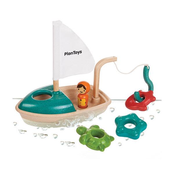PlanToys - Activity Boat Bath toy