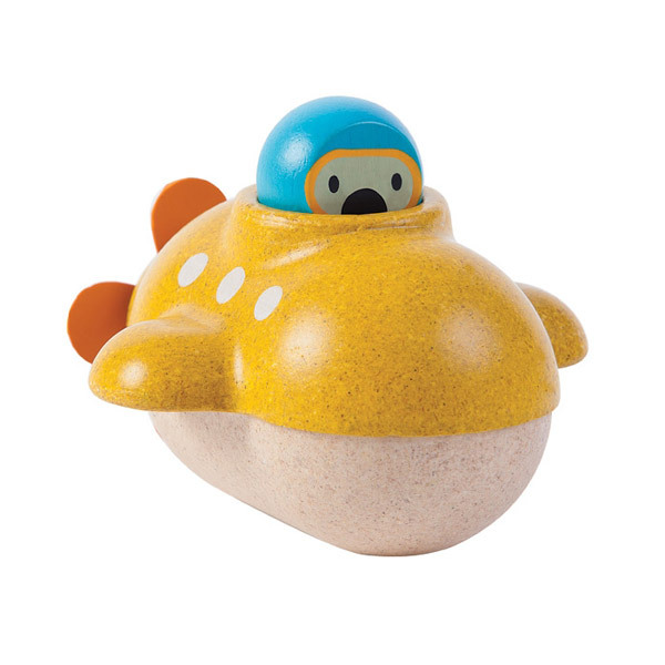 PlanToys - Submarine Bath toy