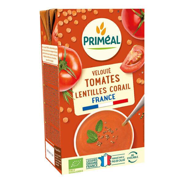 Priméal - Velouté tomate et lentilles corail 1L