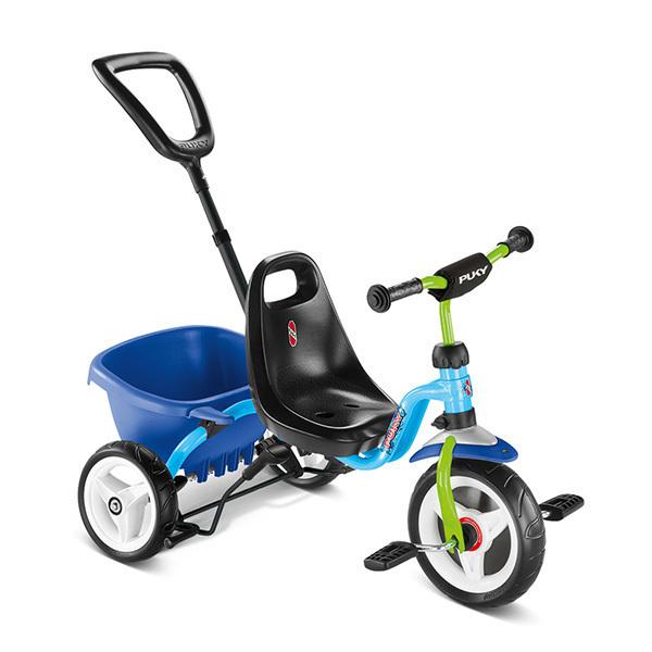 Puky - Tricycle CEETY bleu kiwi - Dès 2 ans