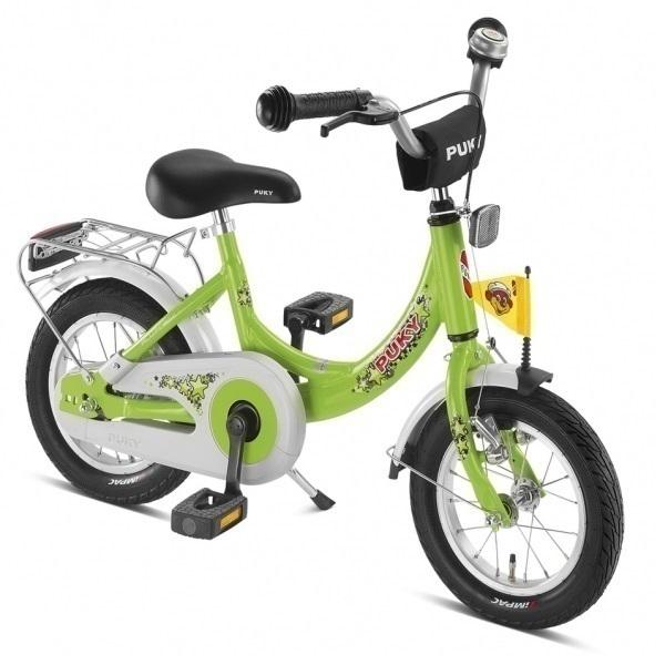 """Puky - Vélo Enfant ZL 12"""" Cadre Alu - Vert - Dès 3 ans"""