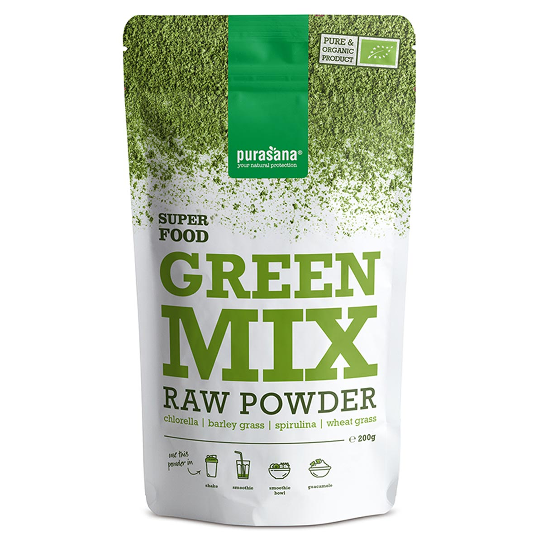 Purasana - Poudre green mix 200g