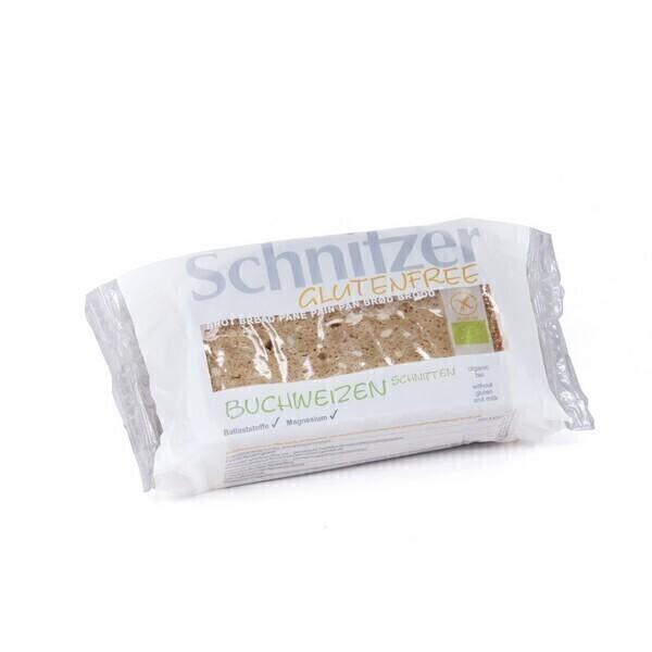 Schnitzer - Pain Sarrasin tranché sans gluten 250g