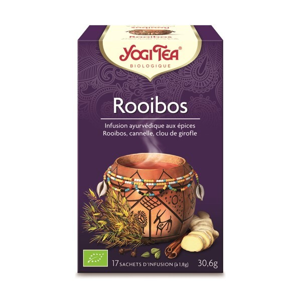 Yogi Tea - Infusion exotique rooibos 17 sachets
