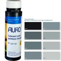 Auro - Colorant peintures noire 0,25L