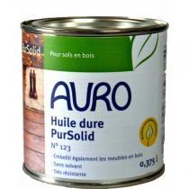 Auro - Huile dure pour bois PurSolid 123 - 0,375L