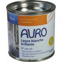 Auro - Laque couvrante brillante Aqua blanche 0,375L