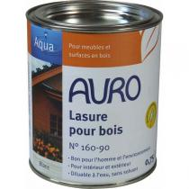 Auro - Lasure sans solvant blanche 0,75L