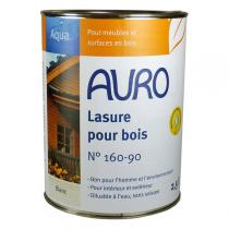 Auro - Lasure sans solvant blanche 2,5L
