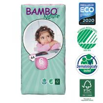 Bambo Nature - 4 Packs of 44 Disposable Nappies Size 6 XL 16-30kg