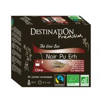 Destination - Schwarzer Tee Pu Erh Yunnan China BIO 20x1,5 g