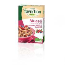 Favrichon - Müsli - Cranberry, Heidelbeere, Himbeere - 500 g