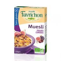 Favrichon - Müsli - Feige, Kirsche - 375 g