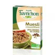 Favrichon - Müsli - Leinsamen & Ballaststoffe - 500 g