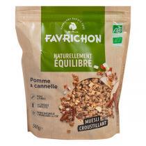 Favrichon - Muesli Pomme Cannelle - 500g