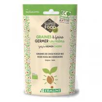 Germ'line - Graines à germer chou rouge 100g