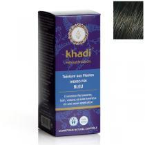 Khadi - Teinture aux plantes Indigo pur Bleu - 100g