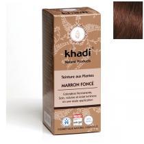 Khadi - Teinture aux plantes Marron foncé 100g