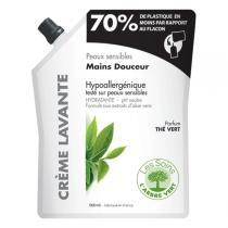 L'Arbre Vert - Recharge crème lavante thé vert 500ml