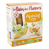Le pain des fleurs - Tartines craquantes à l'oignon 150g