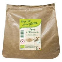 Ma Vie Sans Gluten - Farine de riz demi-complet 3Kg