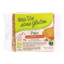 Ma Vie Sans Gluten - Pains aux graines de lin 375g