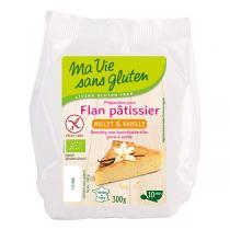 Ma Vie Sans Gluten - Préparation Flan millet et vanille 300g