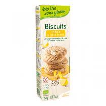 Ma Vie Sans Gluten - Sablés Citron et graines de chia 150g