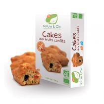 Nature & Cie - Cakes de frutas confitadas - 180g