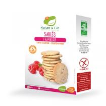 Nature & Cie - Galletas Sablé frambuesa - 135g