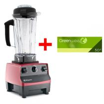 Vitamix - Mixeur Blender Vitamix 5200 Rouge + bon d'achat 50euros offert