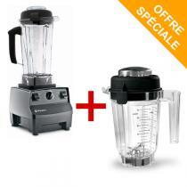 Vitamix - Mixeur Blender Vitamix 5200 - Noir + Bol tritan 0,9L