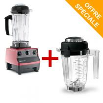 Vitamix - Mixeur Blender Vitamix 5200 - Rouge + Bol tritan 0,9 L