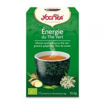 Yogi Tea - Énergie du thé vert - 17 sachets