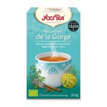 Yogi Tea - Infusion Réconfort de la Gorge x17 sachets
