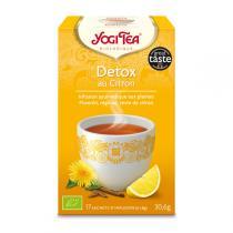 Yogi Tea - Infusion Detox au Citron x 17 sachets