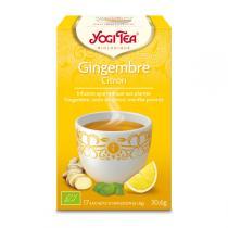 Yogi Tea - Infusion Gingembre Citron x 17 sachets