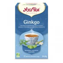 Yogi Tea - Infusion Ginkgo - 17 sachets