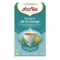 Yogi Tea - Infusion réconfort de la gorge - 17 sachets