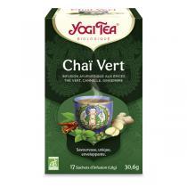 Yogi Tea - Thé Chaï Vert à la Menthe x 17 sachets