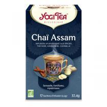 Yogi Tea - Thé Noir Chaï Assam x 17 sachets