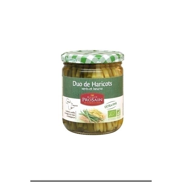 ProSain - Duo de haricots verts et beurres extra-fins 400g