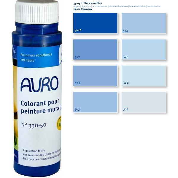 auro colorant peintures bleu ultra marin 025l loading zoom - Colorant Peinture