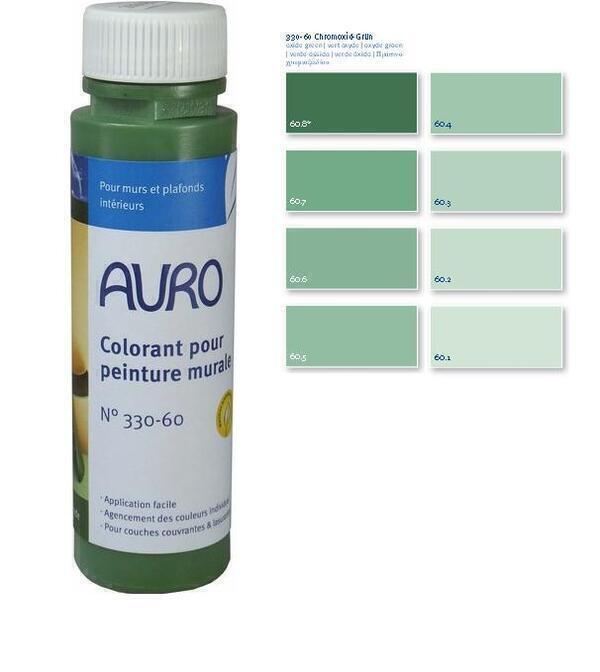 auro colorant peintures vert oxyde 025l loading zoom - Peinture Colorant