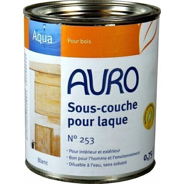Souscouche pour laque Aqua 0,75L Auro  Acheter sur