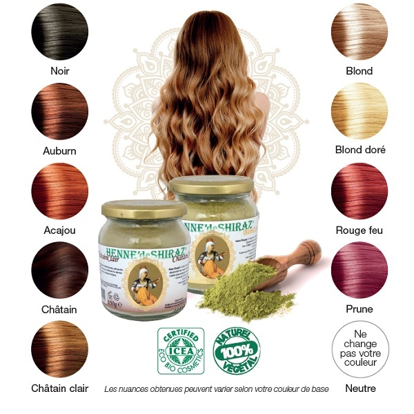 HennГ© cheveux clairs