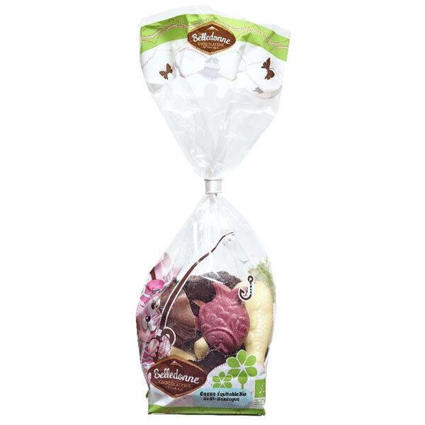 Belledonne - Friture chocolat 4 couleurs 120g