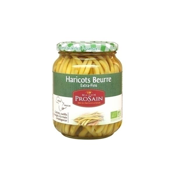ProSain - Haricots beurre extra-fins cueillis et ranges a la main