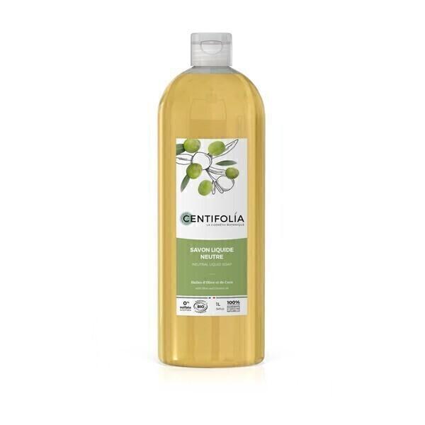 Centifolia - Savon liquide neutre 1L